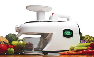 Greenstar Elite White Juicing Juicer Slowjuice Slowjuicer Healthy Nutrien