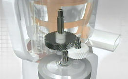 Using Unique 3-stage Speed Reduction Gear  Quiet slowjuicer