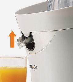 Locking mechanism Prevents drips