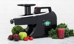 Greenstar Elite Black Juicing Juicer Slowjuice Slowjuicer Healthy Nutrien