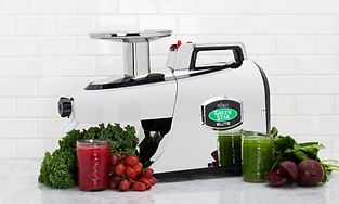 Greenstar Elite Chroom Juicing Juicer Slowjuice Slowjuicer Healthy Nutrien