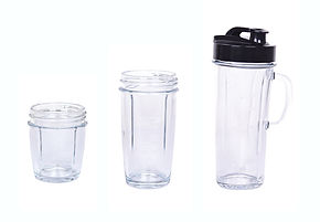 Glass containers accessories
