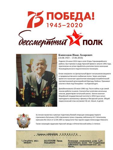 Алина Капитонова - Джаст Дэнс (герой - К