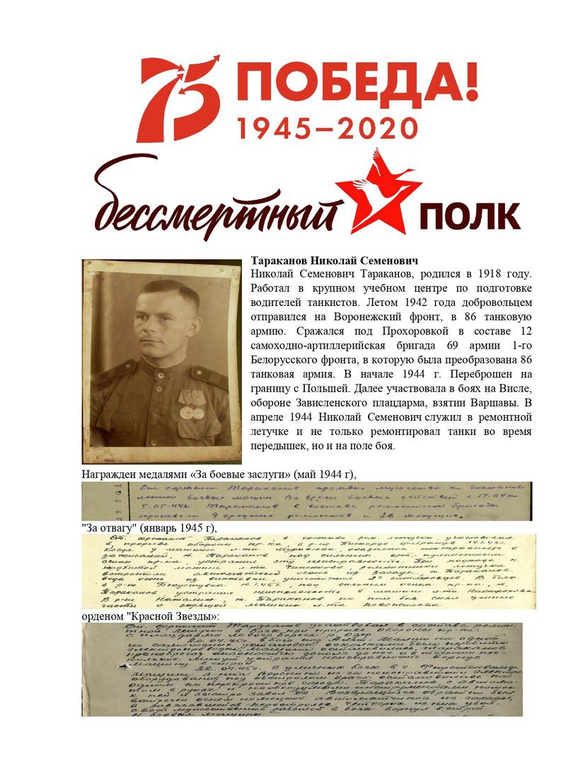 Конев Николай  Живая история ( герой - Т