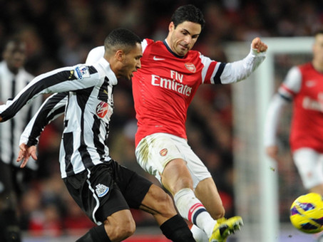 Arsenal vs Newcastle United Quiz