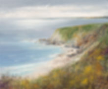 a painting of cornwall by amanda hoskin