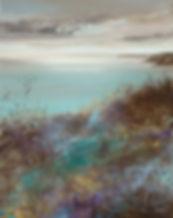 landscape painting by Amanda Hoskin