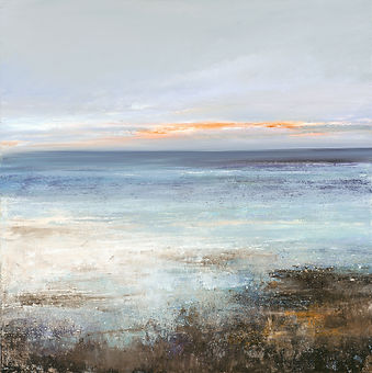 painting of the sea by Amanda Hoskin