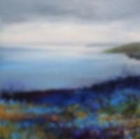 painting of cornish coast by Amanda Hoskin
