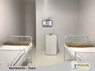 Apartamento Duplo - Hospital Maya