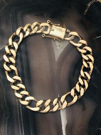 Hand Made Solid Gold bracelet