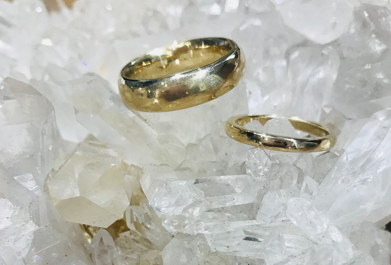 2 Yellow Gold Bands