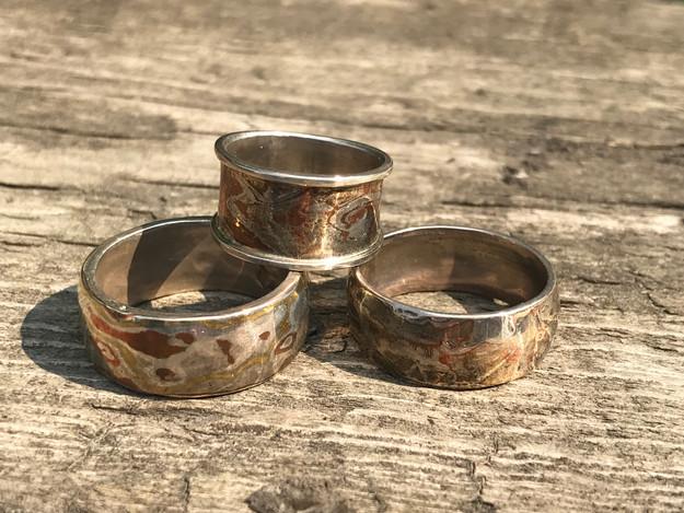 Mokumegame Rings