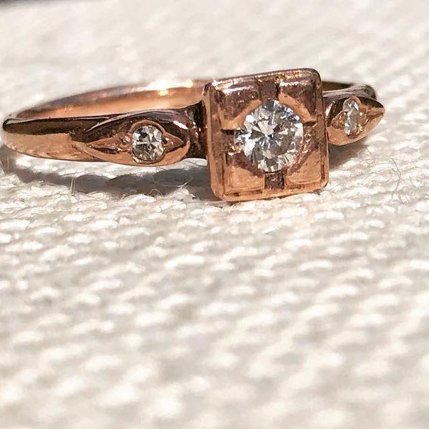 Rose Gold & Canadian Diamonds