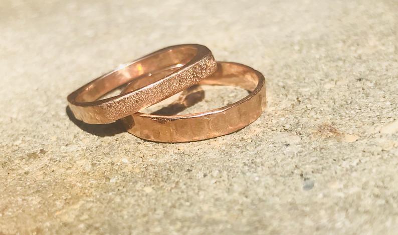 Rose Gold Bands