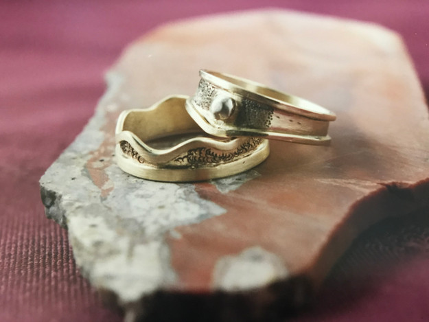 Gold Ring Bands
