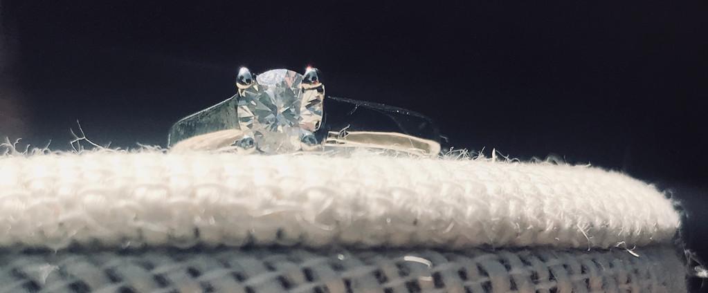 Diamond and White Gold