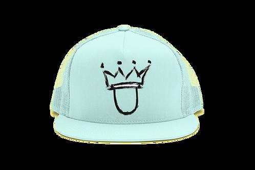 AQUA BLUE KLFE HAT
