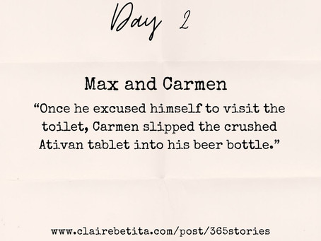 Day #2: Max and Carmen