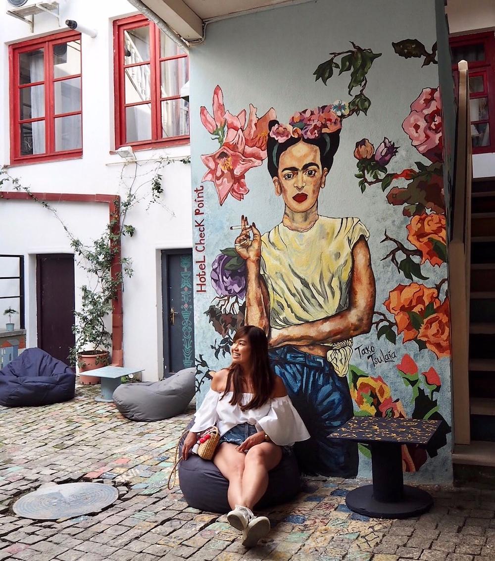 Frida Kahlo in Tbilisi, Georgia Writers Retreat