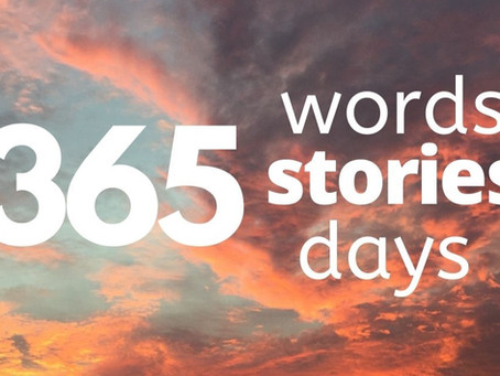365 words, 365 stories, 365 days