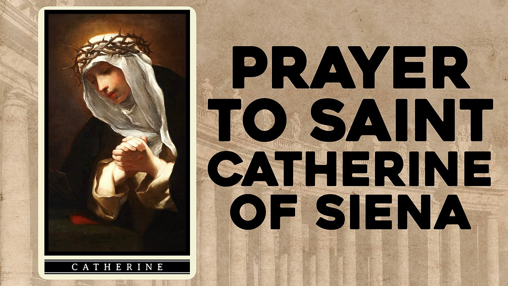 Prayer to St. Catherine of Siena