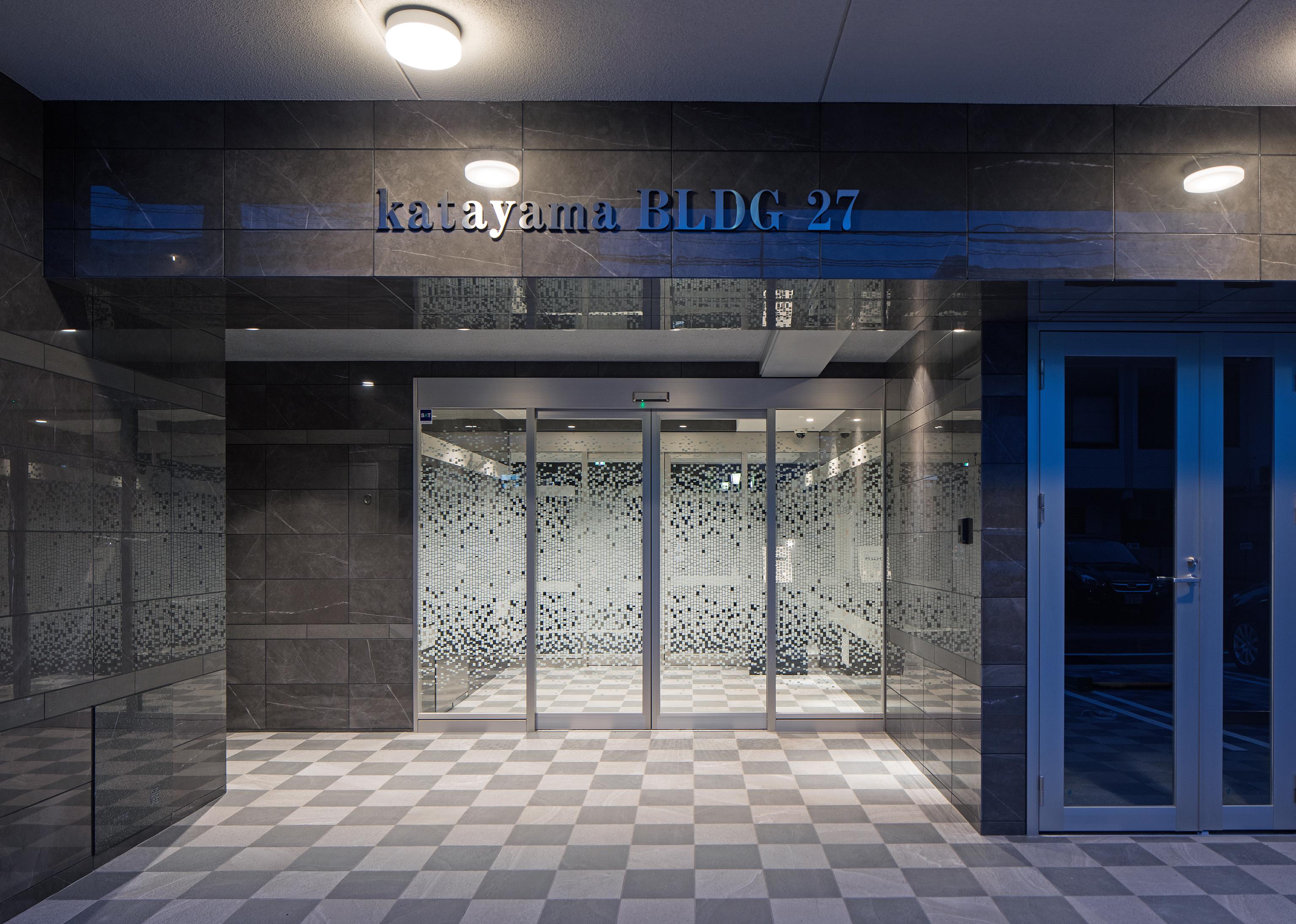 4 katayamaBLDG27 アプローチ夜景