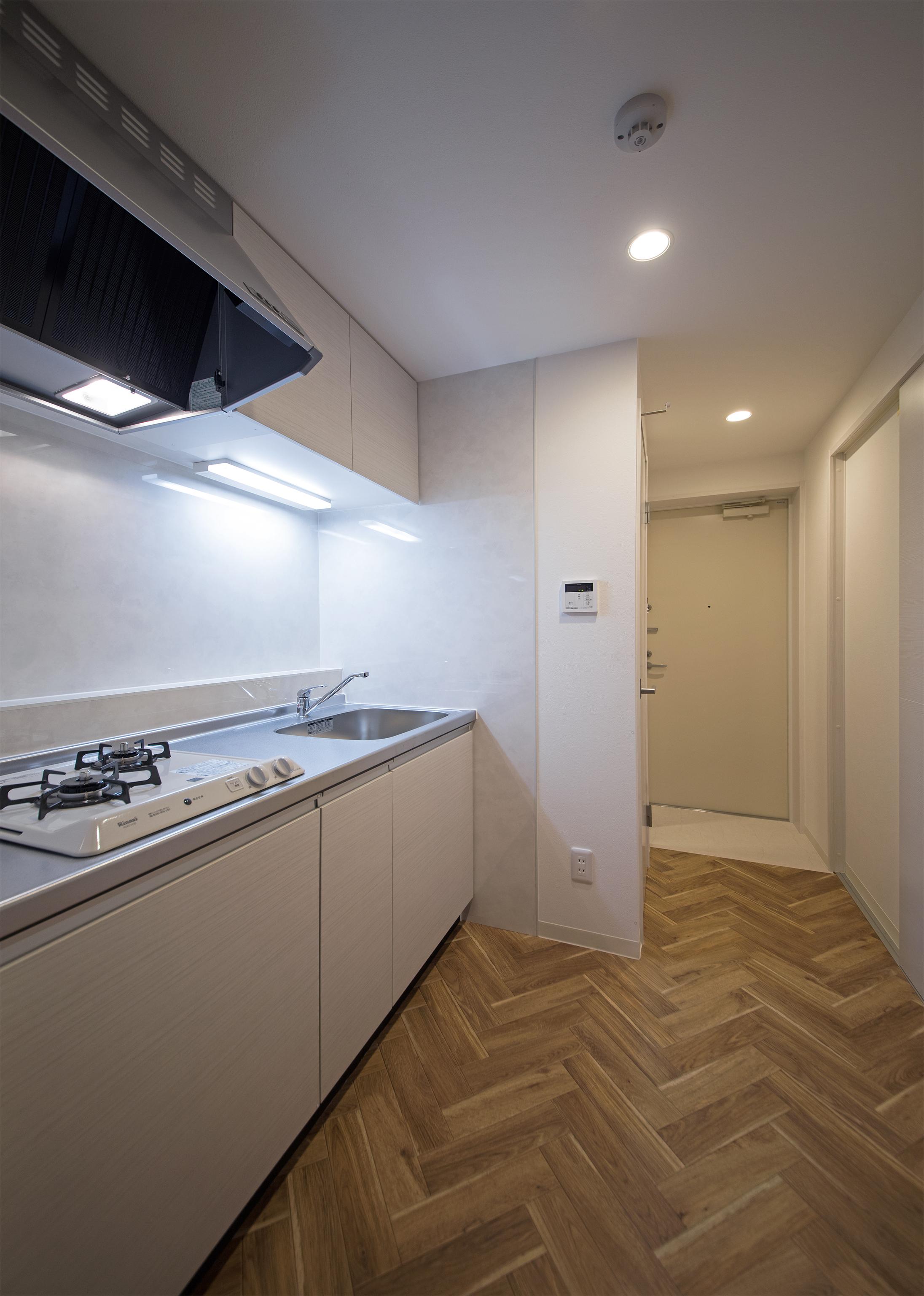 05賃貸 キッチン玄関