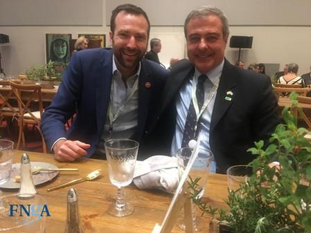 La FNGA junto a Ben Allen en la cumbre mundial del clima