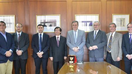 Cooperación Internacional con la potencia del Sudeste Asiático