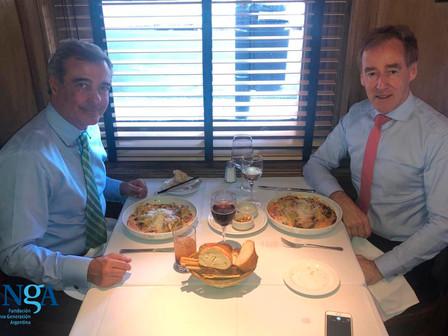 Reunión con el Embajador de Australia