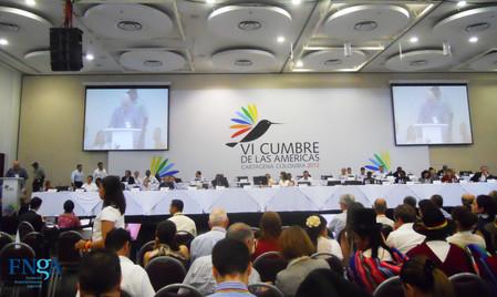 La FNGA en la VI Cumbre de las Américas
