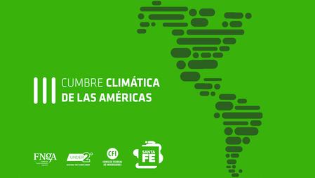 """III Cumbre Climática de las Américas"""