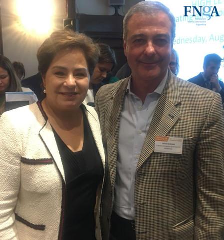 "La FNGA junto a Patricia Espinosa en ""La Semana del Clima"""