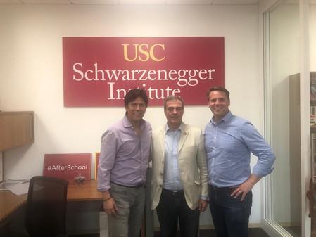 Visita al Instituto #Schwarzenegger, en la Universidad de California del Sur