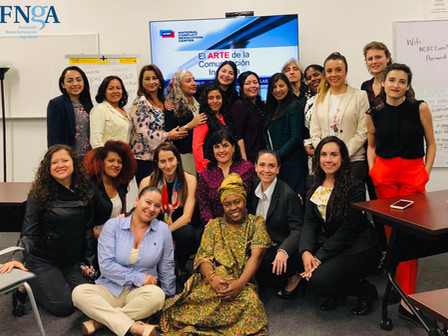 "La Directora Ejecutiva de la FNGA participó del taller ""El arte de la comunicación inclusiva&qu"