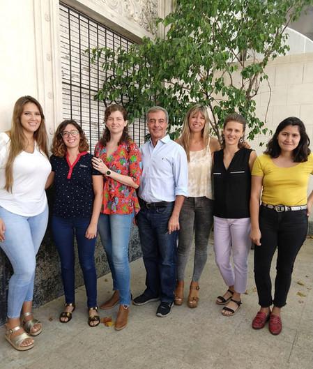 Natalia Feldman visitó la FNGA