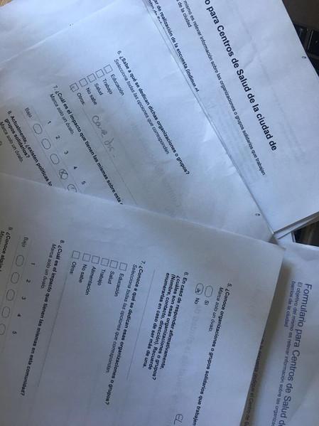 Información estadística de la sociedad civil de Rosario
