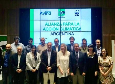 LaFNGAen el lanzamiento de la Alianza para la Acción Climática Argentina.