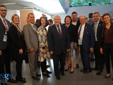 La FNGA junto a los senadores de California en la Cumbre Global de Acción Climática