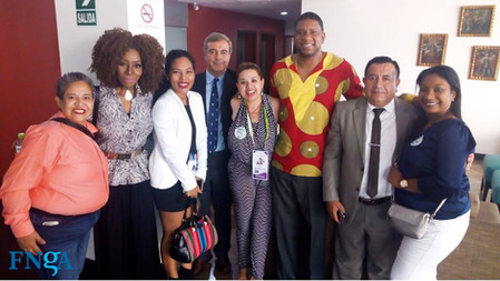La FNGA junto a la Coalición del Movimiento Afrodescendiente de las Américas, apoyando a Hernando Vi
