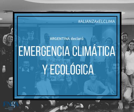 El Senado declaró la #EmergenciaClimáticayEcológica en Argentina