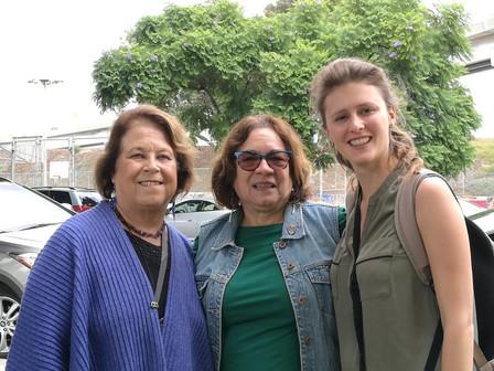 Directora Ejecutiva de la FNGA junto a Denise Ducheny del centro USMEX (Universidad de California Sa