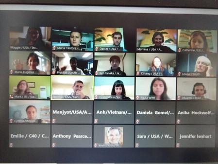 Reunión online de la Alianza para la Acción Climática internacional