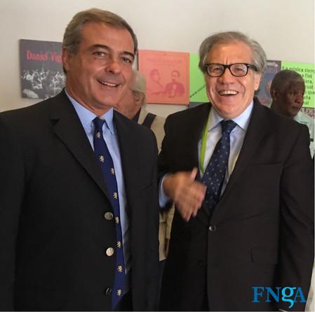 Secretario General de la OEA inauguró Diálogo entre Actores Sociales y Representantes de los Gobiern