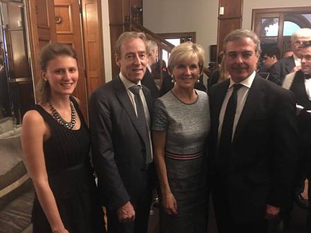 Visita del Embajador de Australia