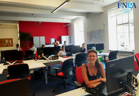 +++ La Directora Ejecutiva de la FNGA trabajando en Londres para construir alianzas +++