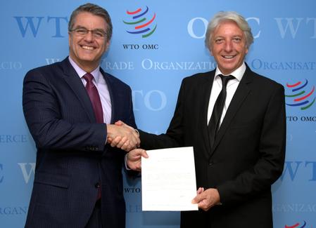 Miembro de la FNGA llega a puesto clave en la World Trade Organization (OMC)
