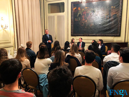 ///LA FNGA ACERCANDO SAN FRANCISCO A SANTA FE/// Mark Chandler visitó el Programa Joven Argentina