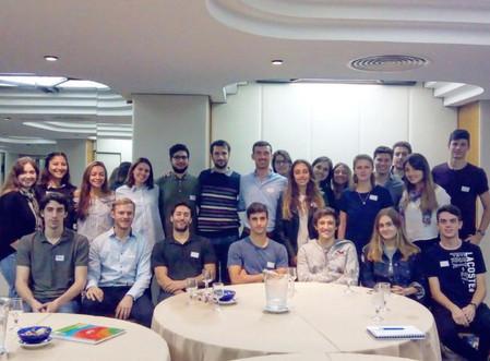 Se inicia el programa Joven Argentina 2018 dirigido por Nicolás Bressan